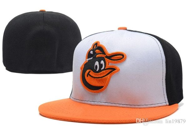 2018 summer style Gorra Orioles Baseball caps bone Men Brand High Quality Unisex hiphop Fitted Hats
