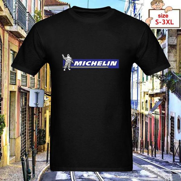Details About Michelin Tire Company Automotive Auto Moto Super Car Black T-Shirt Size S-3XL
