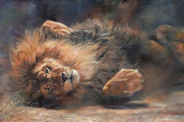 Artwork -rocking-and-rolling-part-2- Unframed Modern Canvas Wall Art for Home and Office Decoration,Oil Painting ,Animal painatings ,frame.