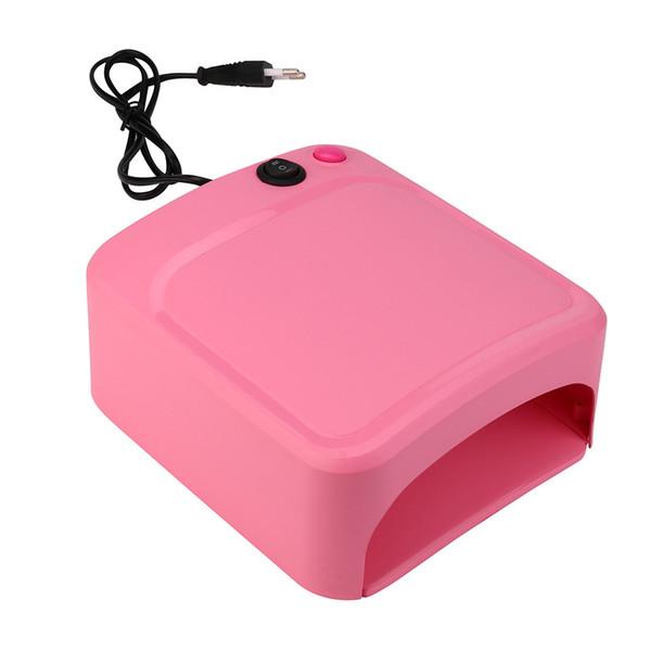 Nueva marca de alta calidad de la llegada 36W UV Lámpara de luz secador de uñas Gel de manicura con temporizador Portable Pro Nail Art Design Tool Pretty