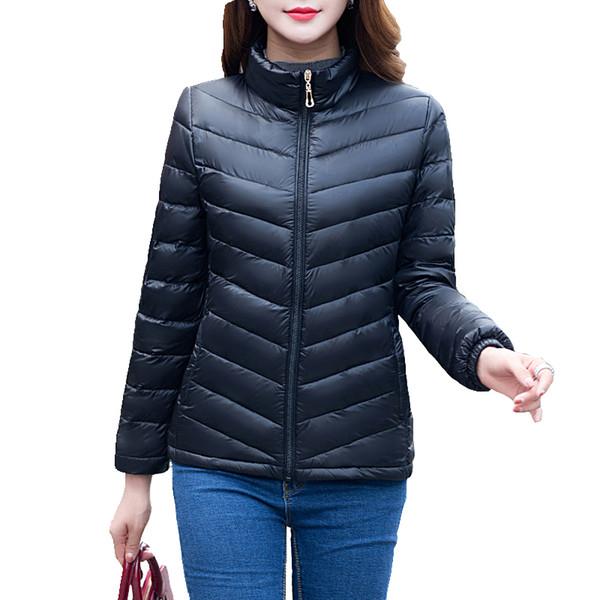 Spring and autumn ladies cotton jacket 2017 Parkas Women Slim zipper Short Fashion Thin Jacket New Arrival Female Coat S18101506