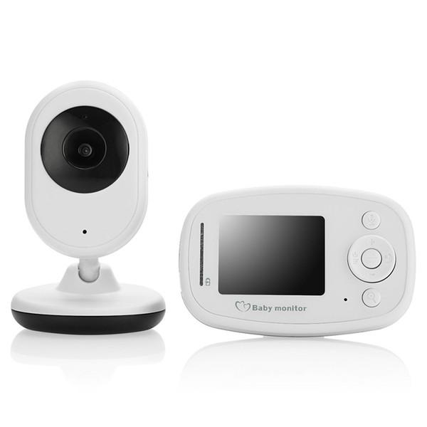 OWGYML Baby Monitor Color LCD Wireless Video Baby Camera IR Night Vision Nanny Security Camera Intercom Temperature Monitor