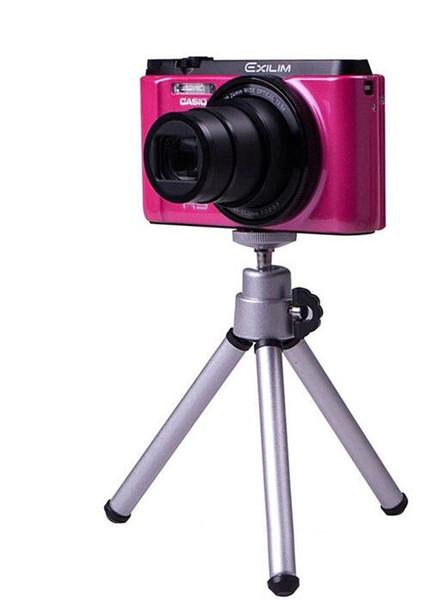Evrensel Taşınabilir 360 Metal Dönen Genişletilebilir Mini Tripod Standı telefon Klip Braketi iphone X 8 Samsung S9 S8 için Dağı Tutun kamera