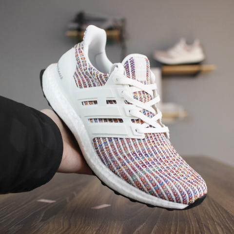 buy popular 03232 9ea7c 2019 Finishline ULTRA BOOSTS 4.0 Cheap Ultraboost Shoes Styles For Mens  Womens Size 13 Candy Cane Triple Black White Navy Multicolor Sneakers From  ...