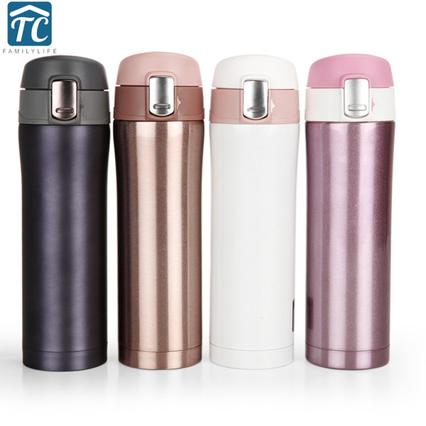 761b6400fbd Christmas 500ml Stainless Steel Double Walled Insulated Thermos Cup Vacuum  Flask Coffee Mug Travel Drink Water Bottle Thermo Mug