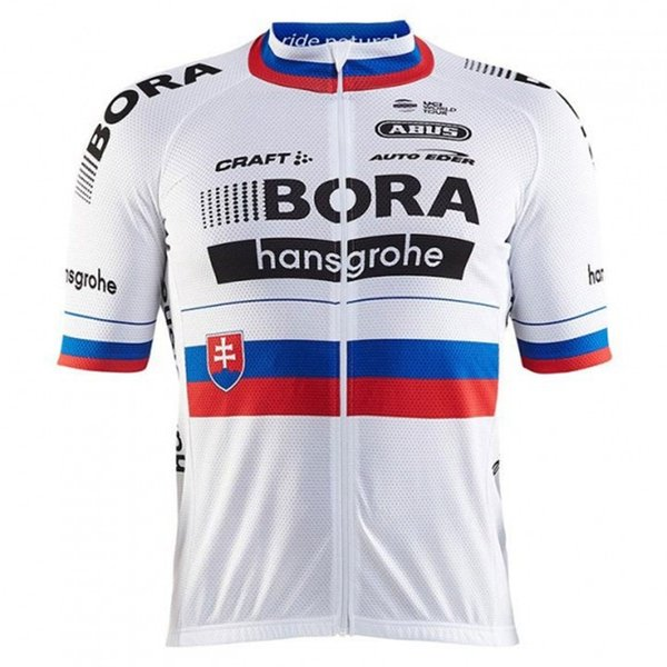 2017 Slovakia Cycling Jersey And 9D gel pad World Team Pro racing Riding shirt Ropa ciclismo 2018 Summer short sleeve Jersey