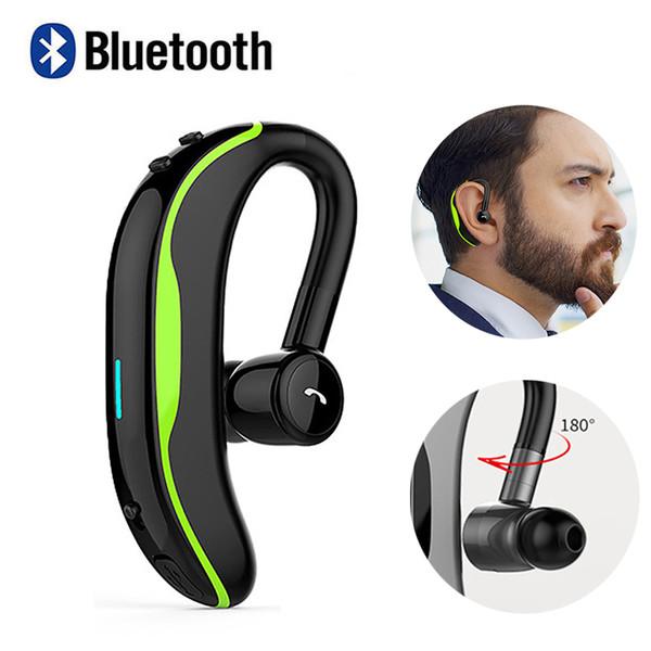 Drahtlose Bluetooth Kopfhörer F600 Ohrbügel Headset Stereo Sport Ohrhörer Noise Cancelling In-Ear-Bluetooth-Kopfhörer mit Mikrofon für Samsung