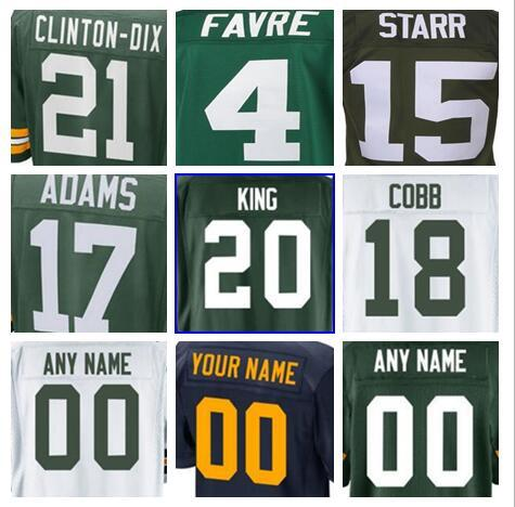 low priced e6afb 9378d 2018 2018 Green Us Bay Aaron Rodgers Packer Jersey Custom Clay Matthews  Jordy Nelson Authentic Sports Youth Kids American Football Jerseys Cheap  From ...