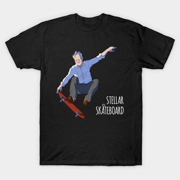 043de67ae1 Skate Estelar T-Shirt Dos Homens de Roupas camisas personalizadas t projeto  da camisa de