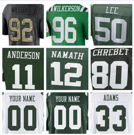quality design e1dc7 f99c2 2019 2019 New York Sam Darnold Jets Jersey Custom Darrelle Revis Wayne  Chrebet Authentic Sports Youth Kids American Football Jerseys Cheap 5xl Us  From ...