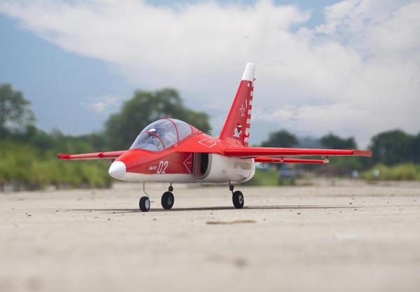 EPO plane/ RC airplane/RC MODEL HOBBY TOY 70mm EDF SPORT JET plane YAK-130 yak130 (kit set or 6S PNP SET) Retractable
