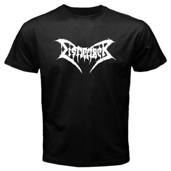 Novo Desmembrar Death Metal Band Novo Logotipo dos homens T-Shirt Preta S M L XL 2XL 3XL
