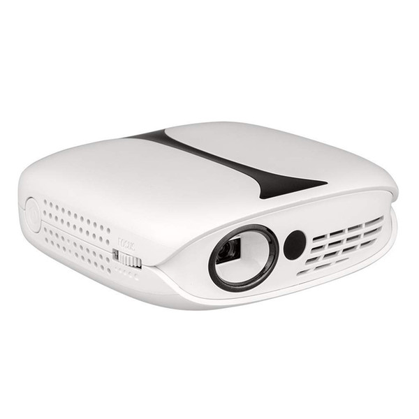 606 Mini DLP LED Projector Pocket Beamer 50ANSI 4K Home Theater Newest Projector with HDMI USB Ports 1080P