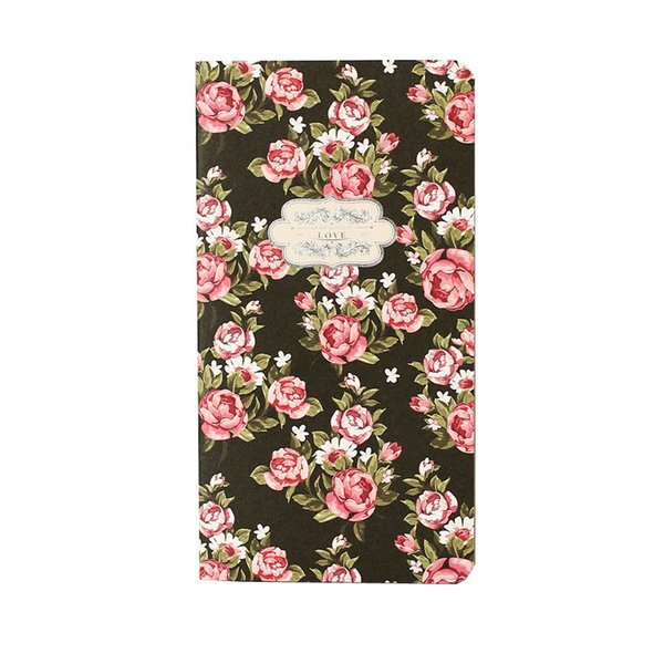 Flowers Series Notebook School and Office Supplies Diary Book Multifunctional Fine Scrapbook 30 Sheets 160*8.6 cm cm