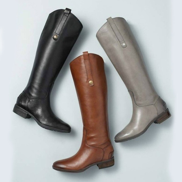 201 Autumn And Winter New Long Tube Women Boots Keep Warm Windproof Rubber Boots Fashion Winter Women
