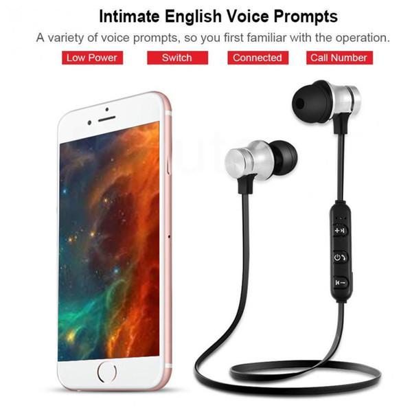XT11 Bluetooth Headphones Magnetic Wireless Running Sport Earphones Headset BT 4.2 with Mic MP3 Earbud For Smartphones in Box