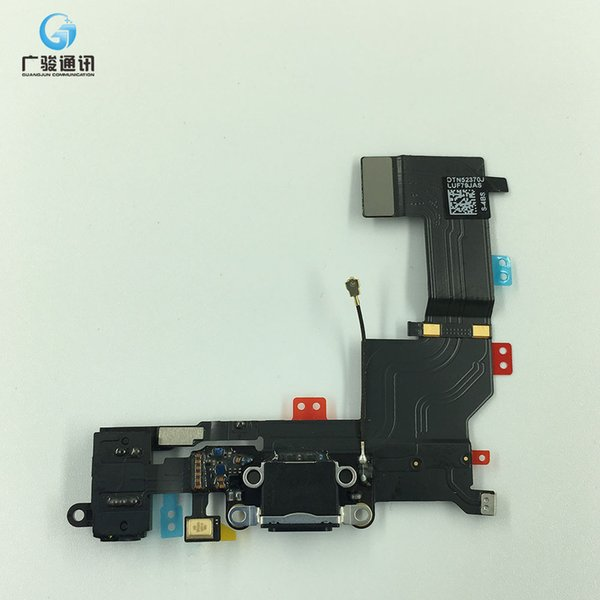 Nastro Flex Cable per connettore USB Dock di ricarica originale per iPhone 5S Flex Jack per cuffie audio Jack