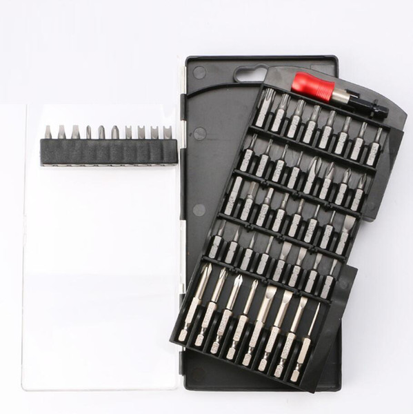 best selling New High Quality Electric Screwdriver Bits Magnetic Washing Head Cone Charging Hand Electric Drill Driver Head Set 51 In 1 Wholesale