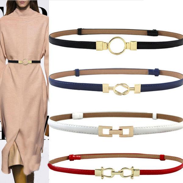 Compre 3 Cor Mulheres Preto Branco Faixa Da Cintura Cinto Fino Elástico Cinto Vestido Acessórios De Vestuário De Yanzhoucheng 1995 Ptdhgatecom