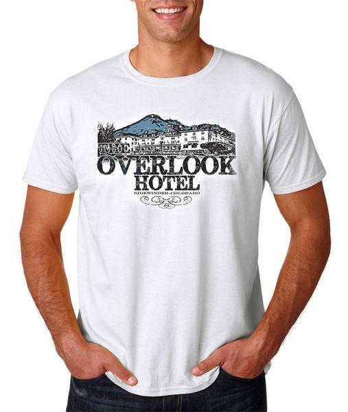 Overlook Otel T-Shirt, S-3XL Korku Cadılar Bayramı Shining REDRUM Odası 237 - 217 Hediye Baskı T-shirt Hip Hop Tee T Gömlek YENI VARıŞ tees