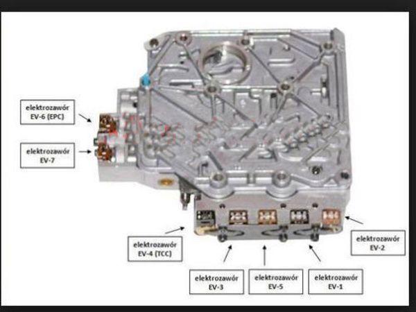 01M Automatic Gearbox Valve Body For Beetle Bora Golf TDI Jetta Pat on