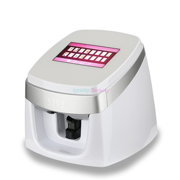 Nail Printer 40s Fast Printing Decoration Fingernails Auto 3D Digital Nail Art Polish Printer Machine Beauty Equipment