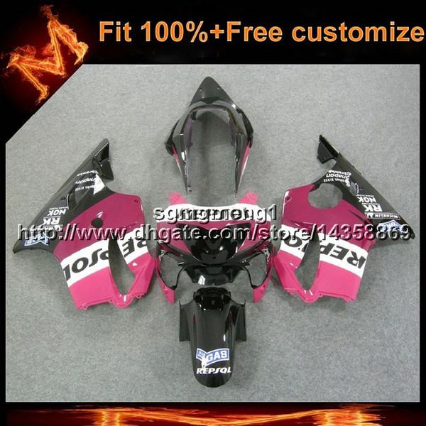 23colors + 8Gifts molde de inyección repsol capucha rosada de la motocicleta para Honda 00 CBR600F4 1999-2000 F4 99 00 CBR 600 ABS carenado de plástico