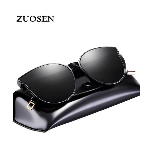 ZUOSEN 2018 Best Selling Fashion Sunglasses Vintage Driving Sun Glasses For women Retro Cheap Luxury Brand Designer Sunglass with case box