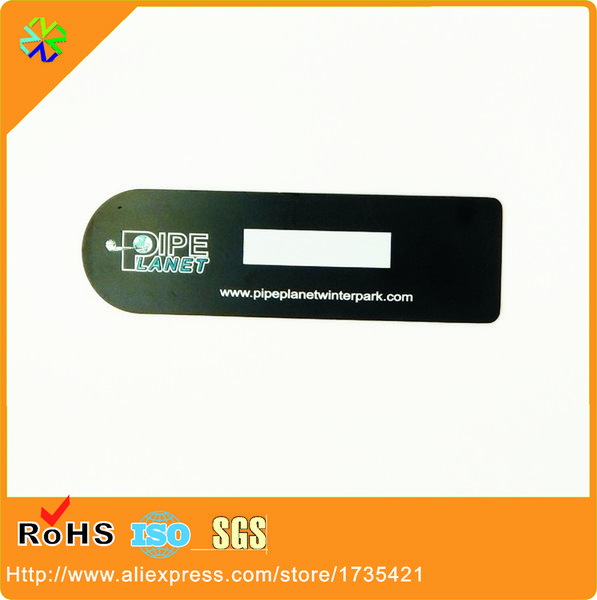 factory price! luxurious 304 stainless steel material metal member cards printing