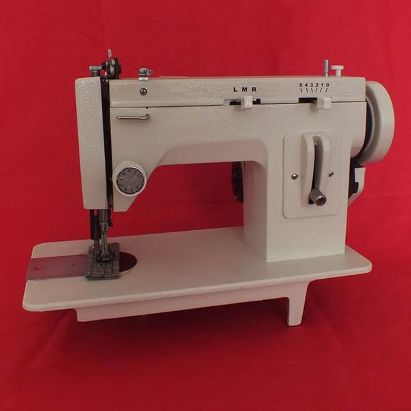 Vendita più calda Sail Rite Walking Foot Zig Zag Sewing Machine Portable Zigzag Domestic Macchina per cucire in pelle medio-pesante