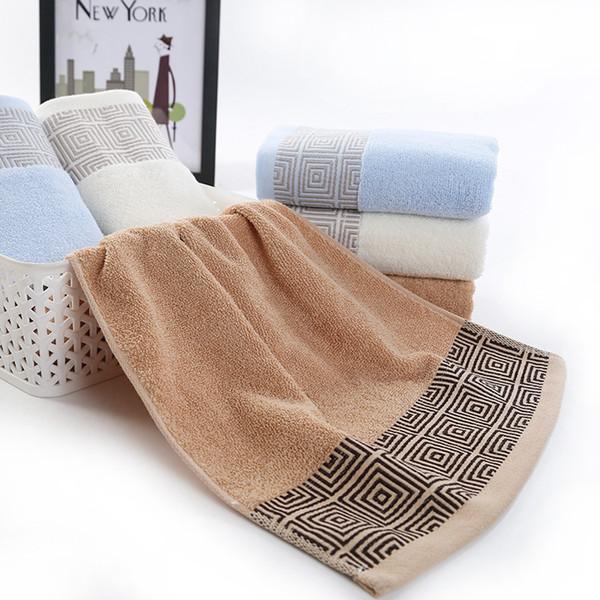 100% toalla de algodón toalla de cara sin desvanecimiento sin pelusa 3 colores de uso en el hogar toalla envío al por mayor envío libre DHL