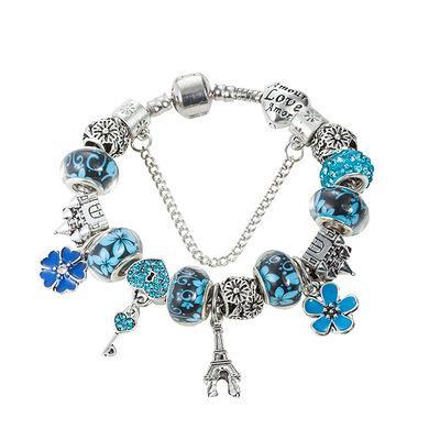 New Hot Sale Jewellery European Charm Bracelets For Women The Eiffel Tower Pendant Bracelet DIY Bracelet