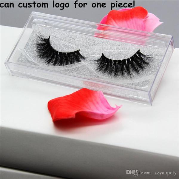 1 pair 58 styles 3D mink eyelashes Private Label 100% real mink fur Handmade False eyelash crossing lashes individual strip thick lash
