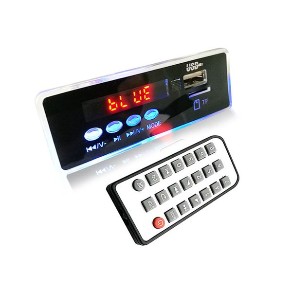 LED Night Light Newest Bluetooth MP3 Decoding Board Module w/ TF Card Slot / USB / FM APE FLAC Remote Decoding Board Module