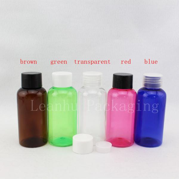 Satın Al 75ml X 50 Renkli Yeniden Doldurulabilir Pet şişe Vidalı