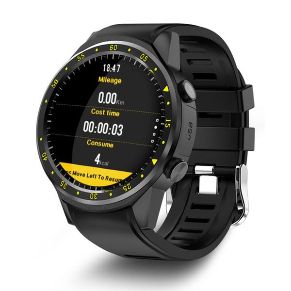 TenFifteen F1 Sport intelligente orologio GPS Watch Phone smart 1.3 pollici MTK2503 doppia fotocamera Beidou frequenza cardiaca / sleep Monito