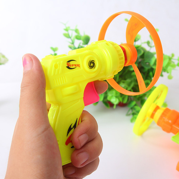 Free shipping Children's Toy flying saucer Selling Creative little toy boy Flying saucer gun