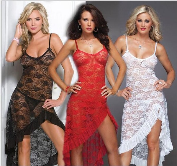 Black /red/white Plus Size Lingerie Lace Langerie Sexy Baby Dolls For Women Costume Sexy Toys Adult Costumes Lingerie Pole Dancing