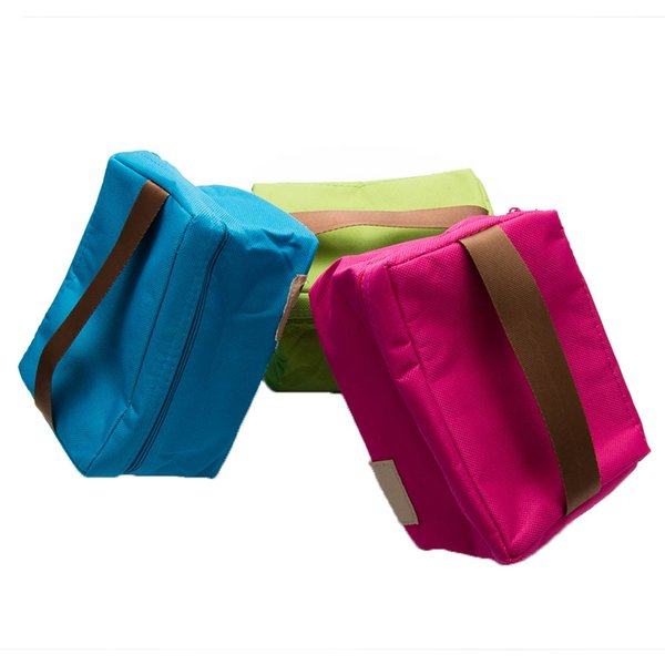 Portable Lunch Bags Insulated New Design Thermal Cooler Bento Lunch Box Tote Picnic Storage Bag Pouch