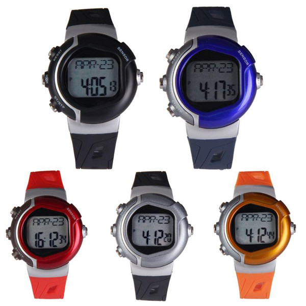 Healthy Sporty Watch Heart Pulse Rate Monitor Digital Wristwatch Women Men Children Sportwatch Calorie Counter