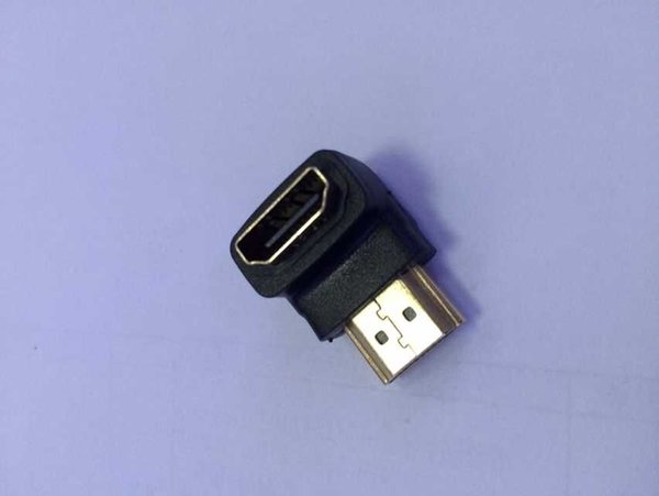 HDMI Male to Female Converter Adapter HDMI M/F L Shaped Right Angle 90 Degree Elbow Video Adapter Connector 300pcs/lot