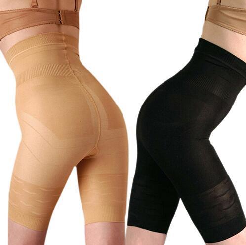 Seksi Kadınlar Karın Kontrol Şekillendirici Kuşak Pantolon Yüksek Bel Şort Ince Vücut Kaldırma Şekli Bacak Külot Iç Çamaşırı Artı Boyutu S-3XL