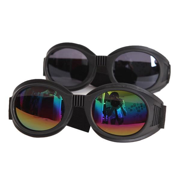 2017 NEW Arrival WWII Vintage Harley style motorcycle goggles Pilot Motorbike goggles Retro Jet Helmet Eyewear 4 color lens