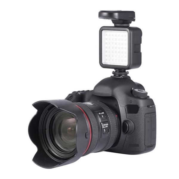 W49 LED Long Life 5.5 Вт 800lm 6000 К Мини Портативный Видео Свет Лампы Фотографическое Фото Освещение для Камеры Canon Nikon Sony Pentax
