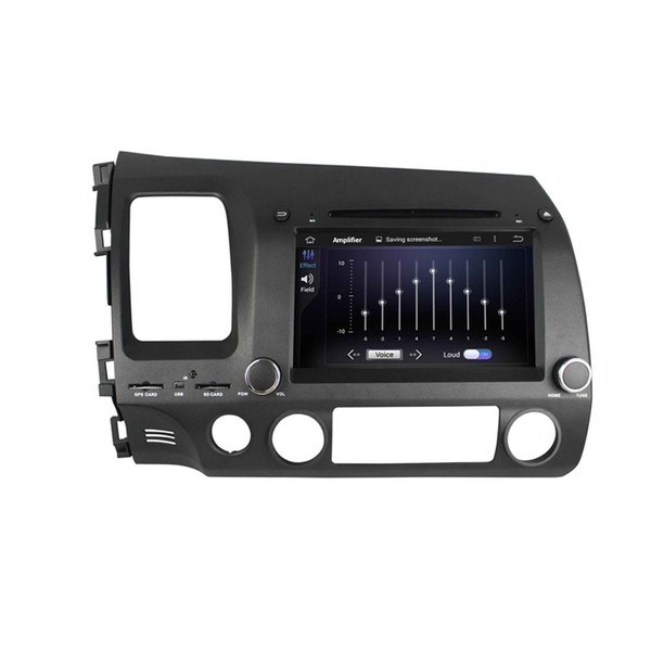 Car DVD player for Honda CIVIC 2006-201 8inch Octa-core Andriod 8.0 with 4GB RAM,GPS,Steering Wheel Control,Bluetooth,Radio