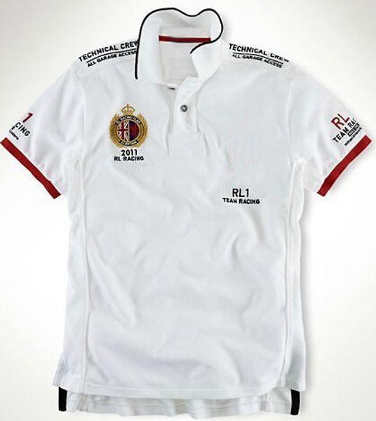 Tendência Argentina Brasil Inglaterra Imprimir homens camisa polo verão casual polos dos homens de algodão Clássico Big Horse Sport camisas Tops