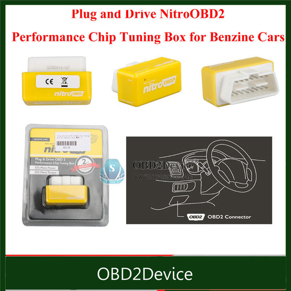 2017 Highly Recommendly NitroOBD2 Nitro OBD2 Chip Tuning Box Chip Tuning interface for Gasoline cars