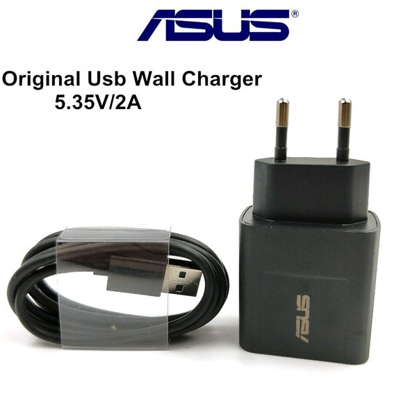 Original ASUS charger For Zenfone 3 5 2 max ze551ml 5.35V/2A USB wall power AC Adapter &Micro usb Cable