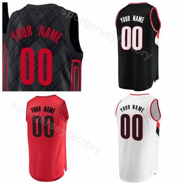 cheap for discount 80da3 1cc02 2018 Men Printed Basketball 3 Cj Mccollum Jersey 8 Al Farouq Aminu 27 Jusuf  Nurkic 0 Damian Lillard h Curry 1 Evan Turner White College From ...