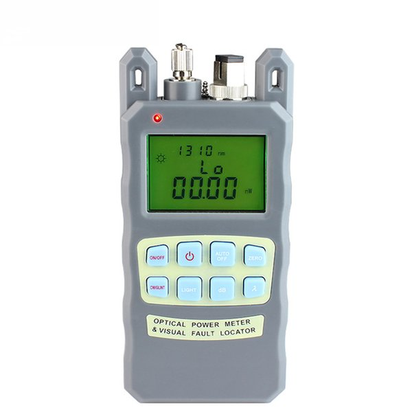 All-IN-ONE Fiber optical power meter -70 to +10dBm and 1mw 5km Fiber Optic Cable Tester Visual Fault Locator